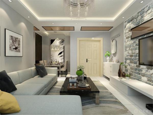 本案在平面布局上强调空间的自然融合,一厅间距两用分工明确,小空间可以创造大价值。