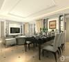 领航城127平三居室欧式装修案例