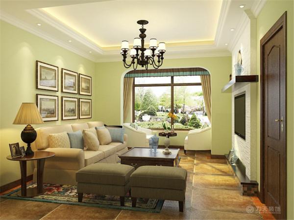 本案为华侨城89平米两室两厅一厨一卫户型,本案风格定义为美式田园风格。美式田园风格在美学上推崇自然,结合自然,在室内环境中力求表现悠闲,舒畅,自然的田园生活情趣运用质朴纹理创造自然、简朴、高雅的氛围。