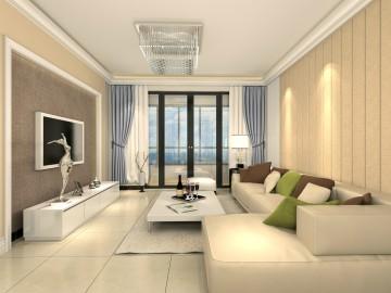 领航城领翔 3室2厅2卫现代风格