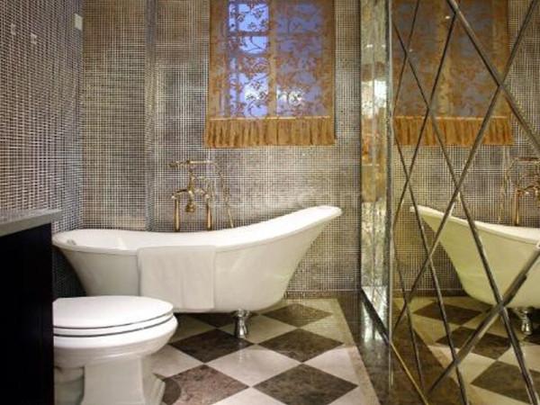 生活家装饰--日光清城160平米四居现代欧式风格卫生间装修效果图