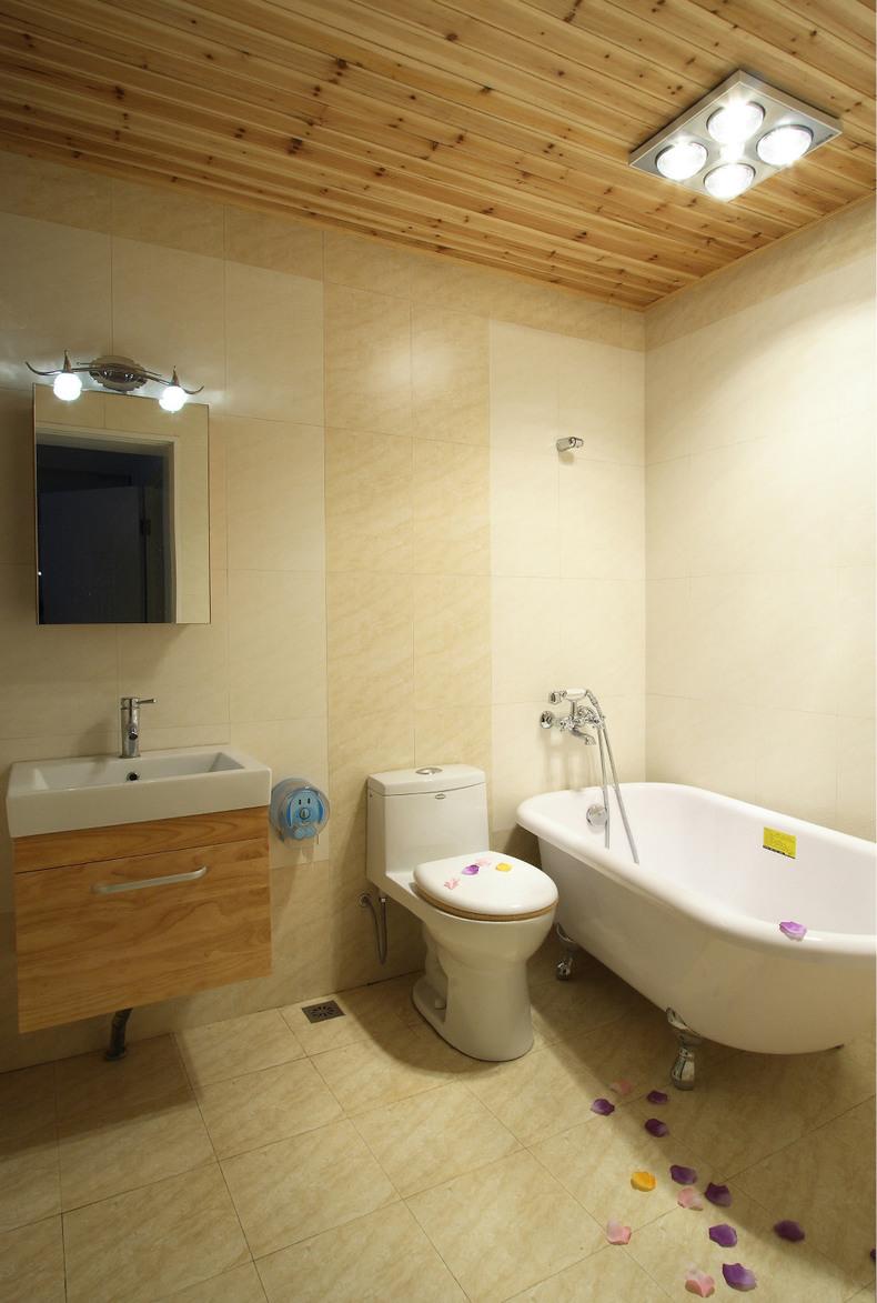 简约 150平 平房 报价 卫生间图片来自赵修杰在150平简约风格的分享