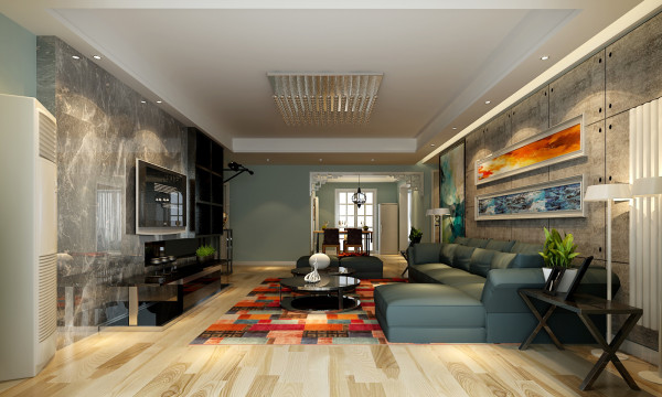 金标装饰设计师,把整个风格定为为现代简约装修风格,整个空间运用现代风格设计元素,整个空间简洁明了。富有层次感。