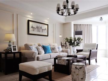 三室装修美式风格混搭设计