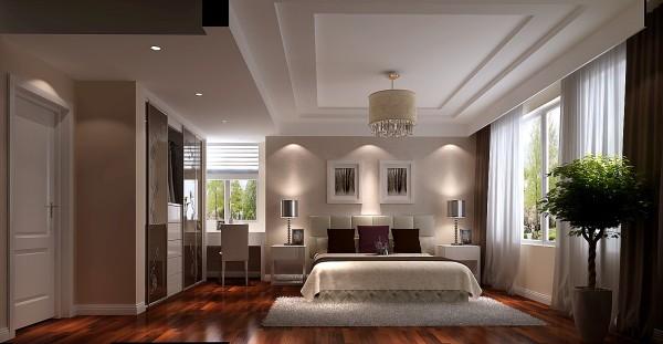主卧旁最原始的衣帽间是一堵斜墙,后期也是拆除了与衣柜形成了很好的衔接。   以宁缺勿滥为精髓,合理的简化居室,从简单舒适中体现生活的精致。