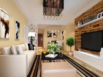 九龙城简约风格装修设计案例