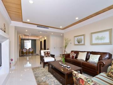 美式风格四居室设计装修
