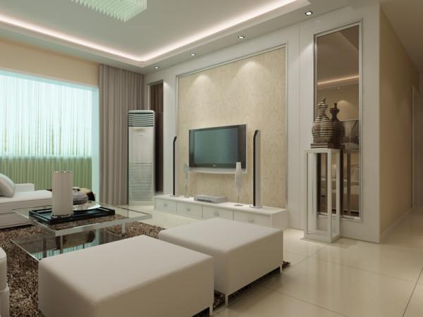 润城 121平米 三居室 现代简约风格 装修设计案例