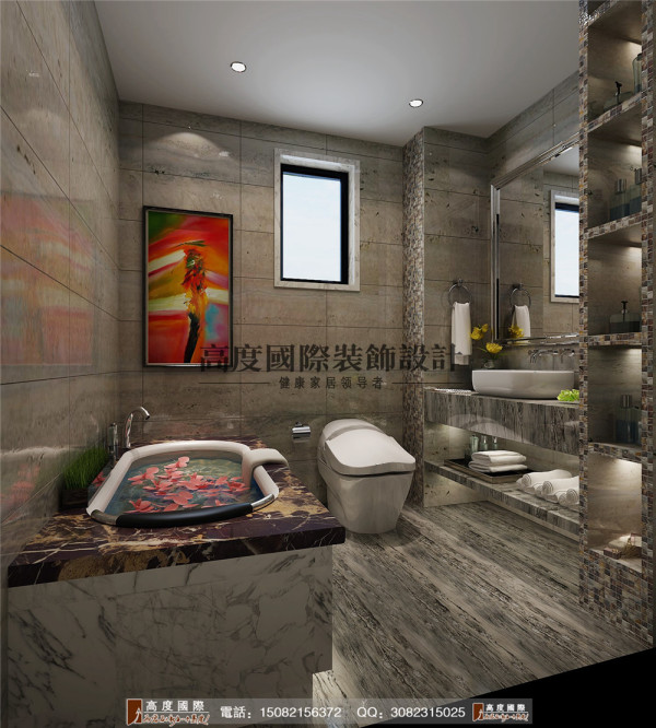 华润24城卫生间细节效果图----高度国际装饰设计