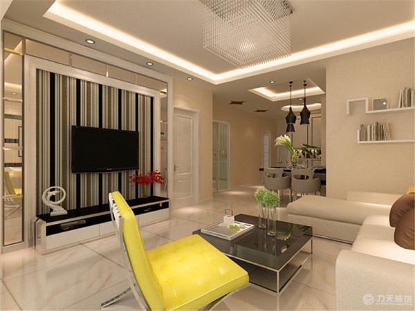 此户型为首创城三室两厅一厨一卫100平米户型,设计风格定为现代简约风格。简洁和有用是现代简约个性的基本特色。这是由于人们装饰时总期望在经济、有用、舒适的一起,表现必定的文化品位。