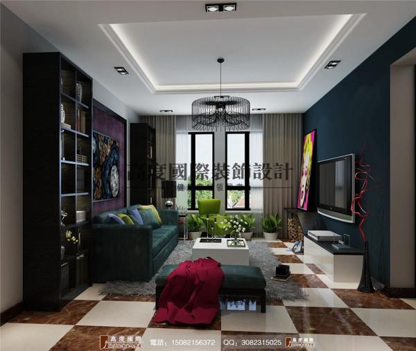 华润24城客厅细节效果图----高度国际装饰设计