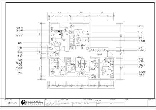 户型方正,房间布局紧凑,基本没有浪费的地方。从入户顺时针介绍,首先是玄关,整个玄关空间较宽敞,在靠墙摆放了一排储藏柜,可以作为一个大的储藏空间,增加实用性。