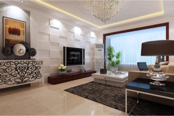 西安中海·开元壹号-三居室125平-现代简约(本小区装修设计41套)