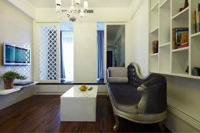 简约 二居 客厅图片来自北京今朝装饰郭风在73平米 润枫欣尚 现代简约的分享