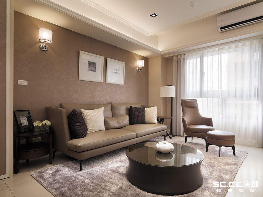 新古典风格 旧房改造 浦江坤庭 客厅图片来自实创装饰上海公司在二手房轻古典精品当我家的分享