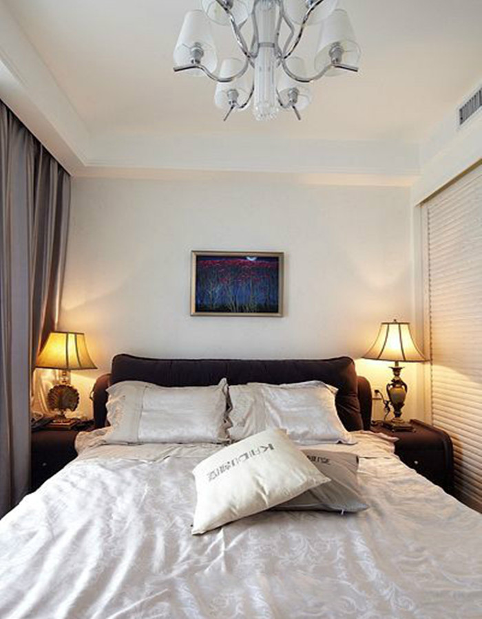 简约 二居 卧室图片来自北京今朝装饰郭风在73平米 润枫欣尚 现代简约的分享