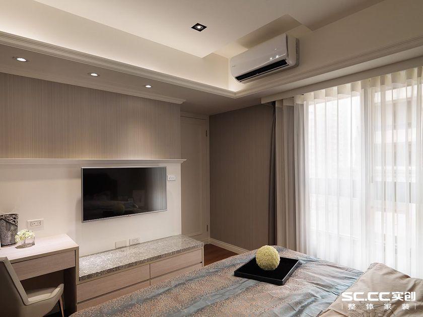 新古典风格 旧房改造 浦江坤庭 卧室图片来自实创装饰上海公司在二手房轻古典精品当我家的分享