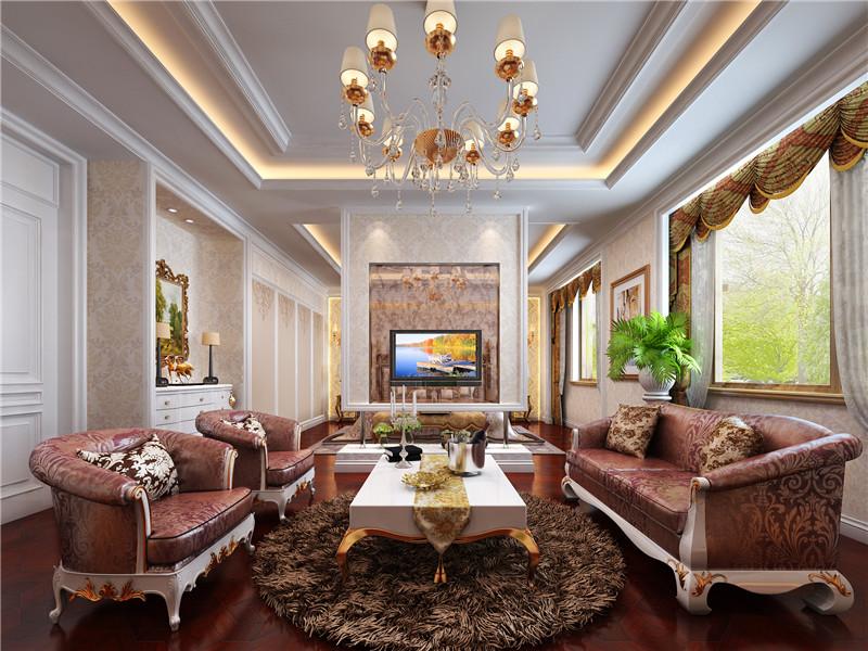 别墅装修 法式风格 卧室图片来自成都尚层别墅装饰装修公司在法式风格的分享