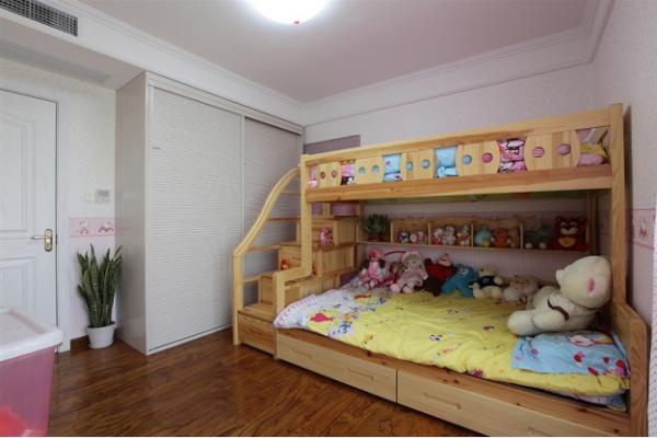 中登悦园现代风格三居室儿童房效果图