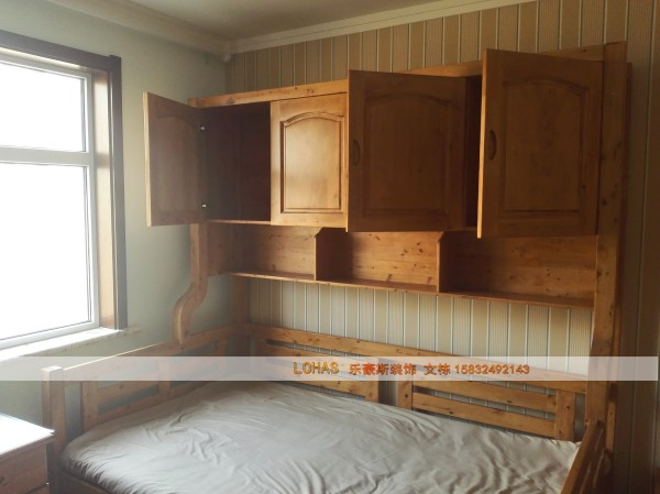 卧室纯实木儿童床