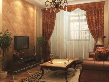 卢浮宫馆三期 美式风格 家装设计