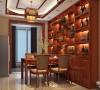 银基王朝 三居 中式风格装修设计