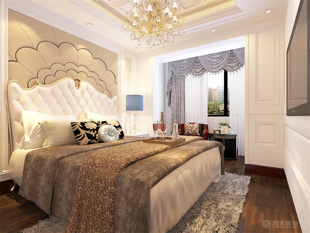 欧式 卧室图片来自阳光力天装饰梦想家更爱家在简欧风格金地艺境 97.61平米的分享
