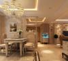 生活家装饰--流星花园140平米三居欧式风格餐厅装修效果图