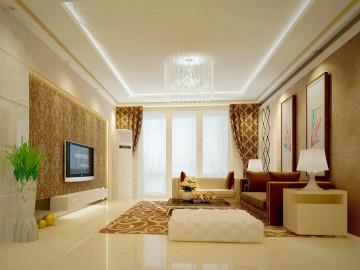 升龙国际中心小区三居 现代风格