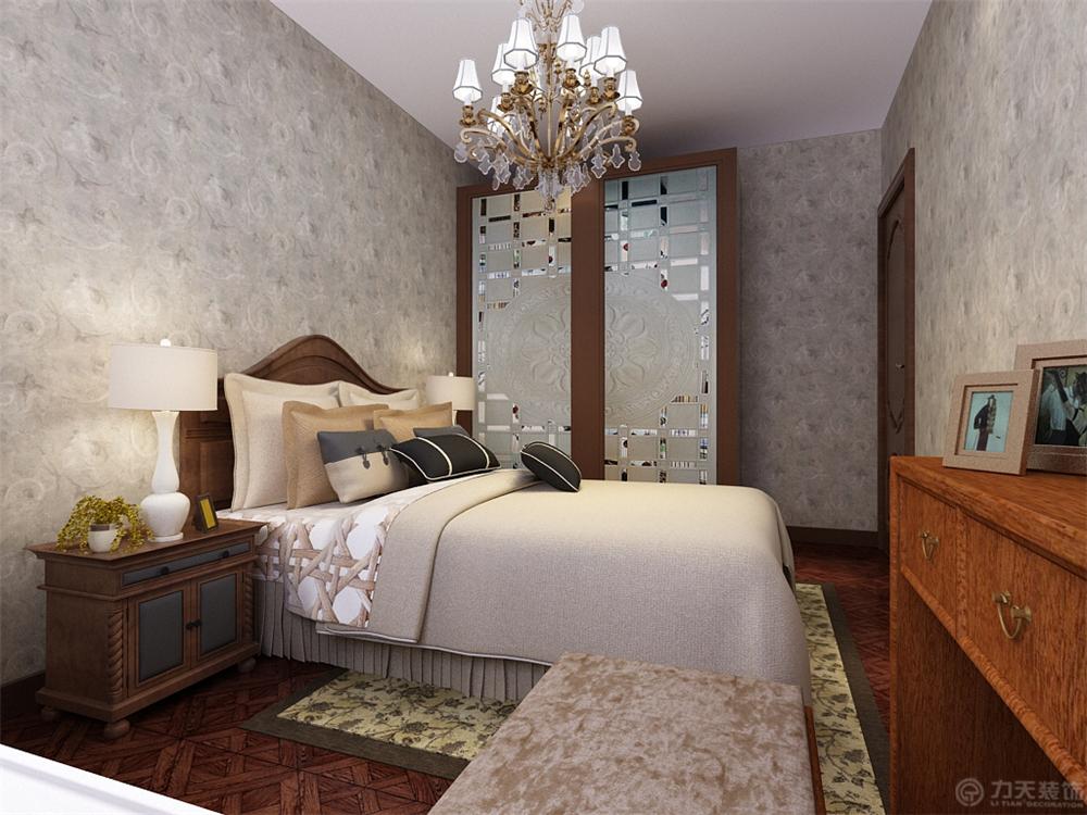 二居 小资 80后 白领 卧室图片来自阳光力天装饰糖宝儿在中式风格 | 摩卡假日 90㎡两居的分享
