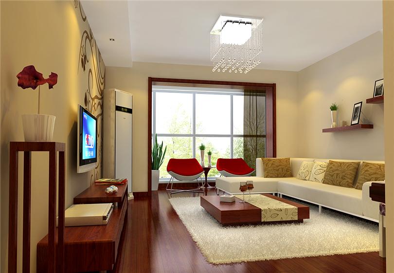 简约 二居 白领 收纳 80后 小资 客厅图片来自实创装饰完美家装在靓景明居80平二居现代风格赏析的分享