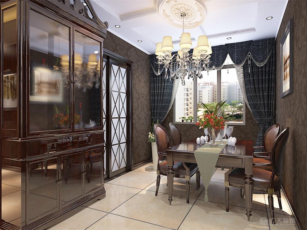 欧式 餐厅图片来自阳光力天装饰梦想家更爱家在简欧风格金地艺境 97.61平米的分享