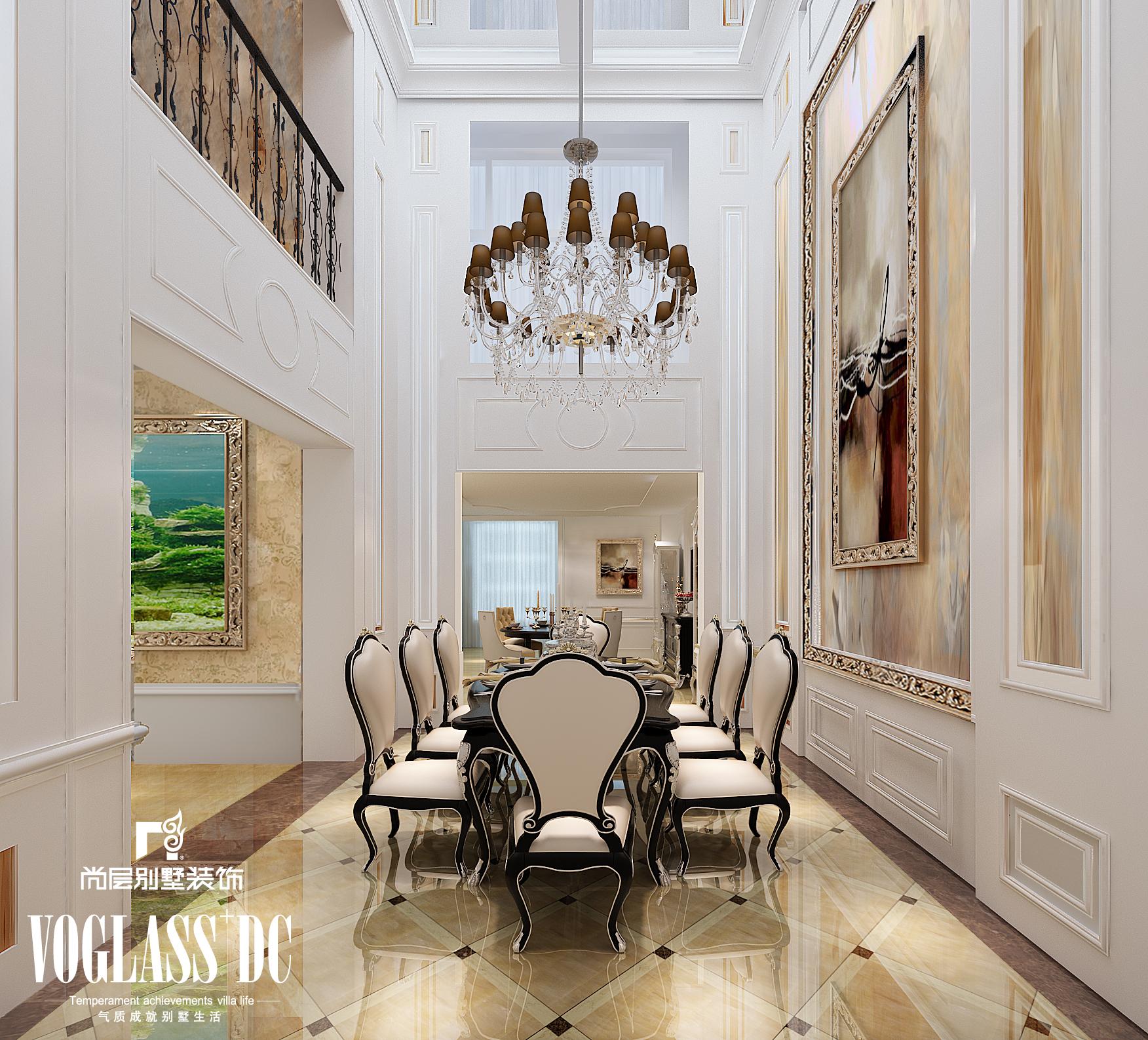 别墅 新古典 餐厅图片来自Spencer丶nuzzi在钻石山的分享