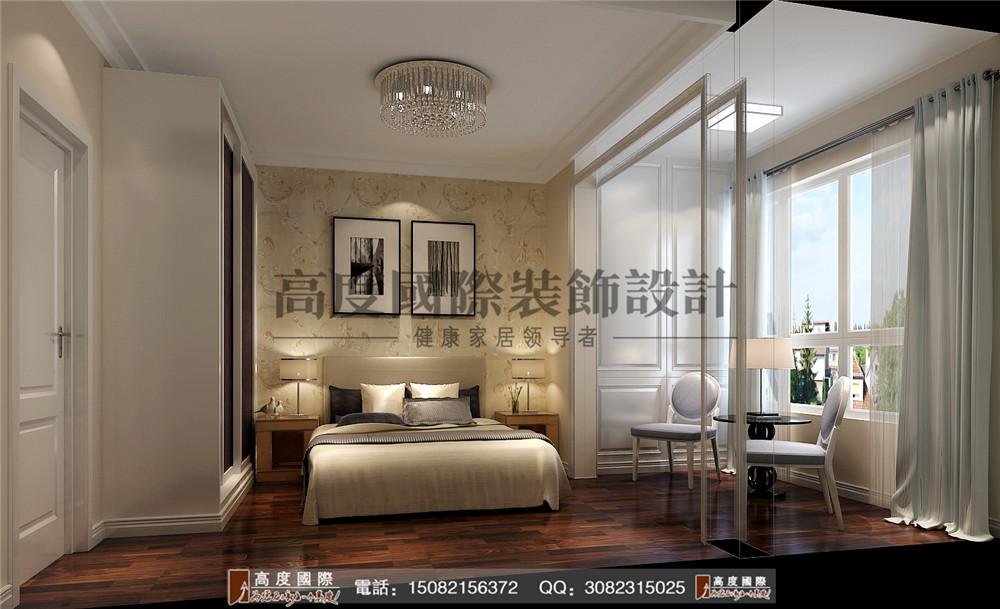 高度国际 成都装修 新房装修 别墅装饰 卧室图片来自成都高端别墅装修瑞瑞在格调时尚风案例.高度国际装饰的分享