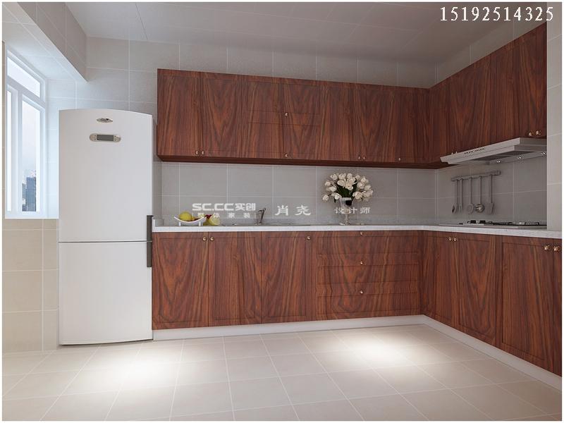 三居 中式 小资 收纳 厨房图片来自快乐彩在晓港名城中式装修设计实创装饰的分享