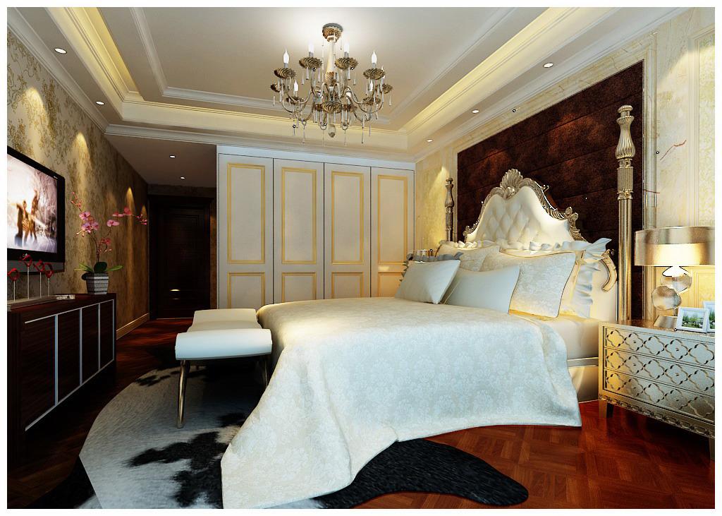 流星花园 生活家装饰 三居 白领 卧室图片来自北京生活家装饰工程有限公司在流星花园140平米三居欧式风格的分享