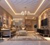 生活家装饰--流星花园140平米三居欧式风格客厅装修效果图