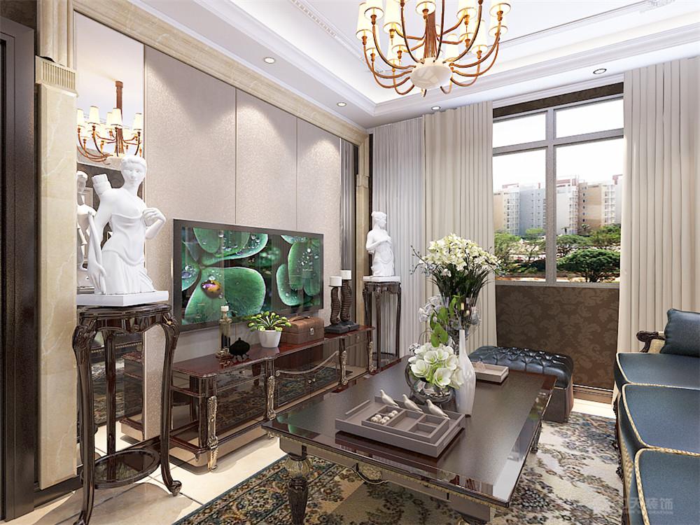 欧式 客厅图片来自阳光力天装饰梦想家更爱家在简欧风格金地艺境 97.61平米的分享