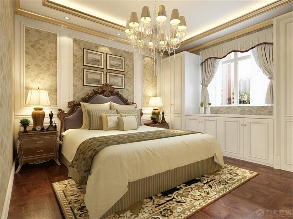 欧式 卧室图片来自阳光力天装饰梦想家更爱家在欧式 珑著  130㎡的分享