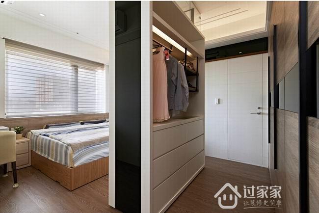 80后 小资 混搭 田园 卧室图片来自过家家装饰在北欧时尚质感衍生层次律动的分享