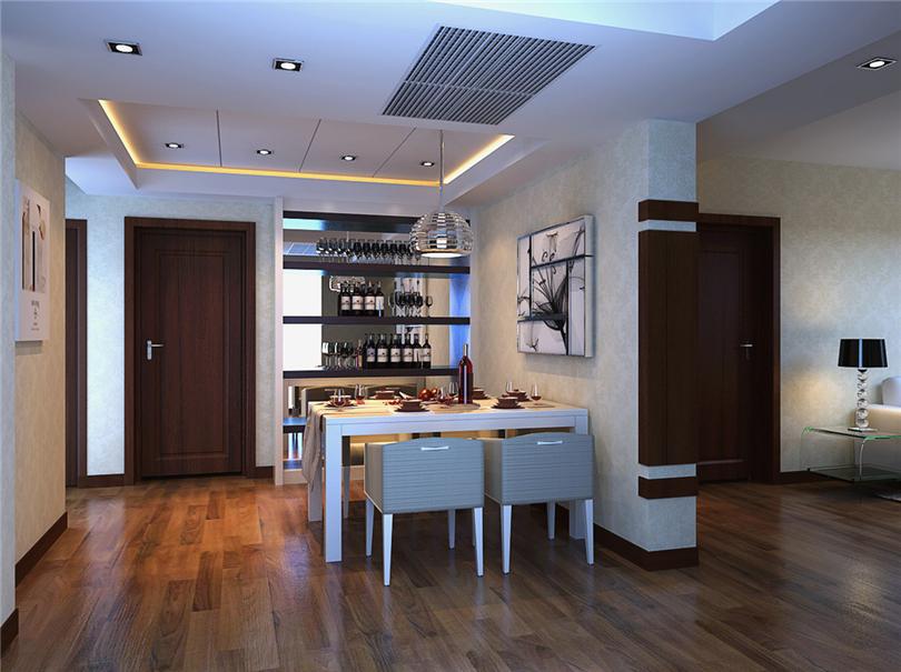 简约 三居 白领 收纳 80后 小资 餐厅图片来自实创装饰完美家装在中国铁建广场120平三居现代赏析的分享