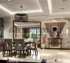 世豪瑞丽餐厅细节效果图---高度国际装饰设计