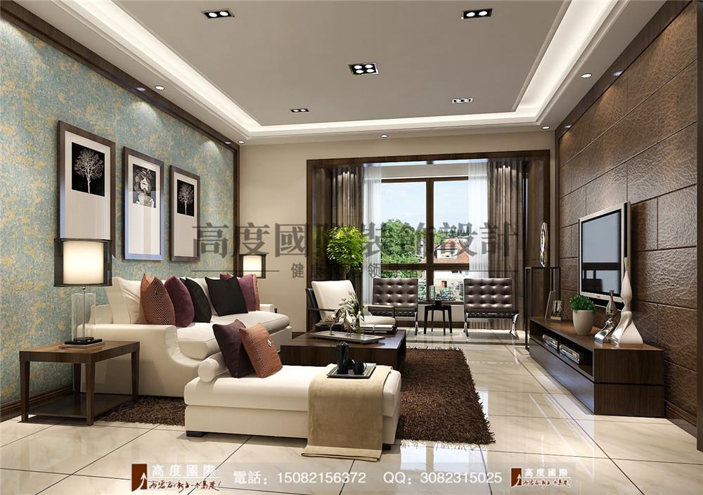 高度国际 成都装修 新房装修 别墅装饰 客厅图片来自成都高端别墅装修瑞瑞在格调时尚风案例.高度国际装饰的分享