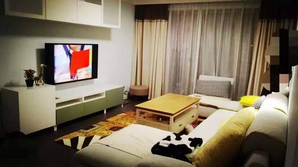 简约 现代 二居 装修 家装 宜家 客厅图片来自南京实创装饰夏雨荷在80平紫阳佳苑完工工地的分享