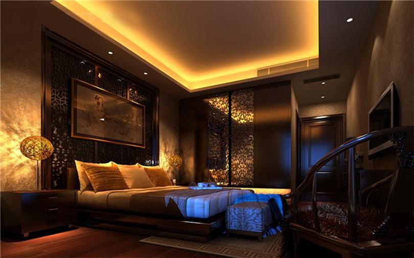 白领 收纳 80后 小资 卧室图片来自实创装饰完美家装在星河城三期160平四居新中式风的分享