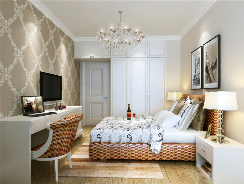 简约 三居 白领 收纳 80后 小资 卧室图片来自实创装饰完美家装在中国铁建广场120平三居现代赏析的分享
