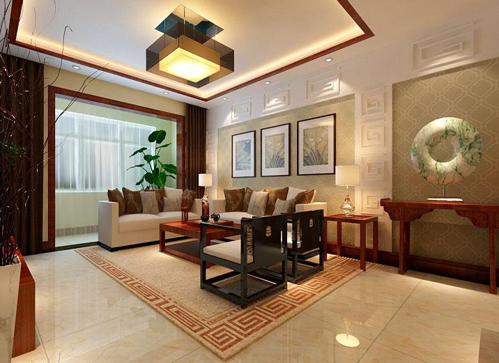 东方韵念 实创装饰 988装修 理想装 客厅图片来自实创装饰集团广州公司在保利东利首府东方韵念的分享