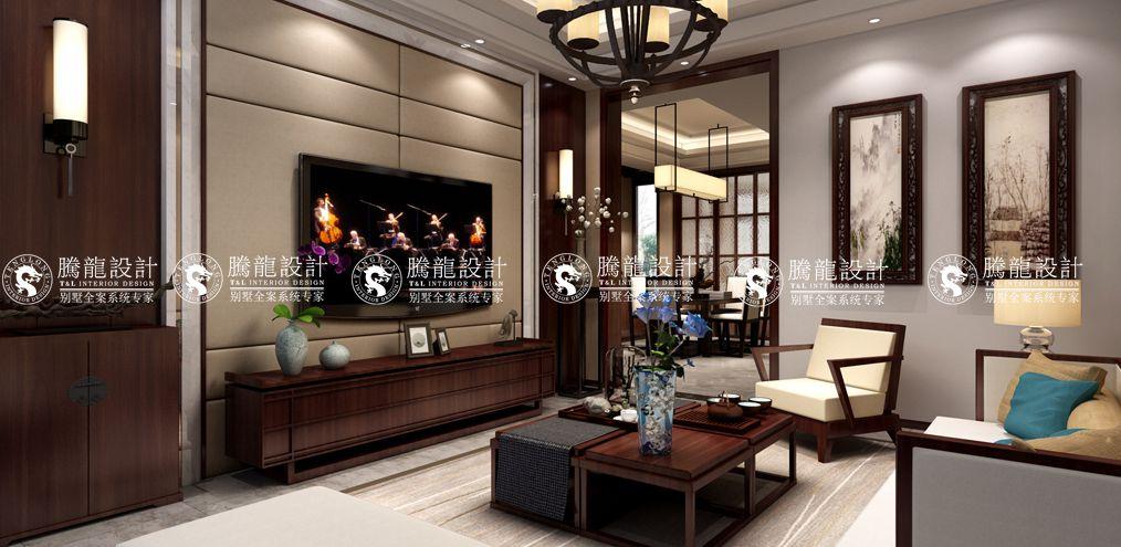 客厅图片来自聚通装饰集团在保集澜湾别墅的分享