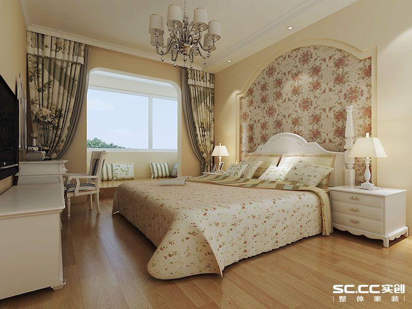 家天下装修 卧室图片来自郑州实创装饰-杨淑平在家天下90平温馨田园设计图的分享