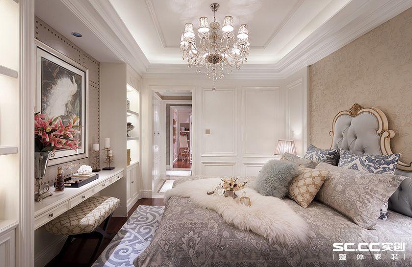 卧室图片来自用户2652703143在永恒理想公元105平欧式风格设计的分享
